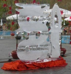 The amazing ice dragon!