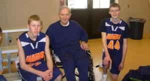 Grandpa was proud of his Grandsons!