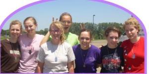 Alexa, Caitey, Miss Corrie, Lindsey, Anna, Kaje and Ruthie!