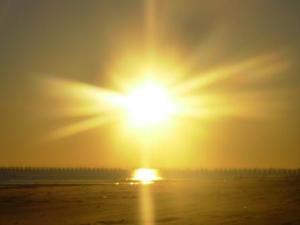 Gulf sunset.2006